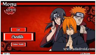 Naruto Senki Mod Akatsuki Menace Apk