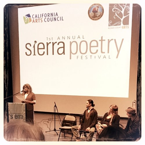 Upcoming Sierra Poetry Festival! Saturday, April 28th, 2018