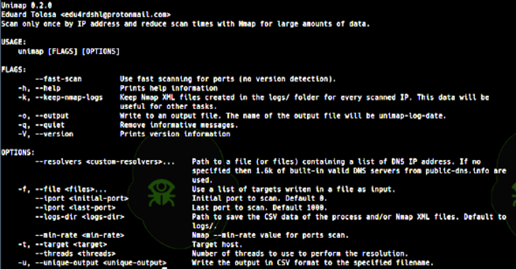 Unimap : Scan Only Once By IP Address
