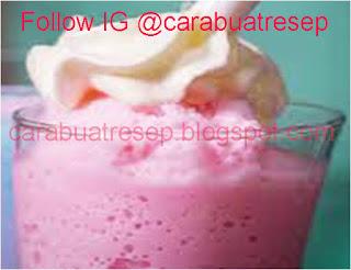 Foto Resep Es Permen Karet Bubble Gum (Bubblegum Frappucino) Sederhana Spesial Asli Enak