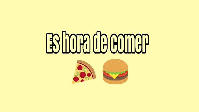 Es Hora De Comer TikTok Meme meaning in English