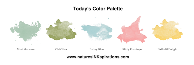 #JOSTTT006 Design Team Inspirations | Today's Color Palette | Nature's INKspirations by Angie McKenzie