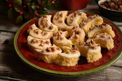 Ciastka półksieżyce - kuchnia podkarpacka