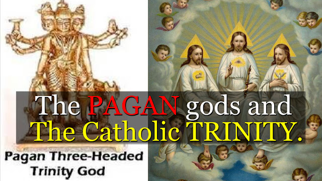 The PAGANS gods and The Catholic TRINITY. By Simon Brown. wwwrealdiscoveriesorg-simon.blogspot.co.uk