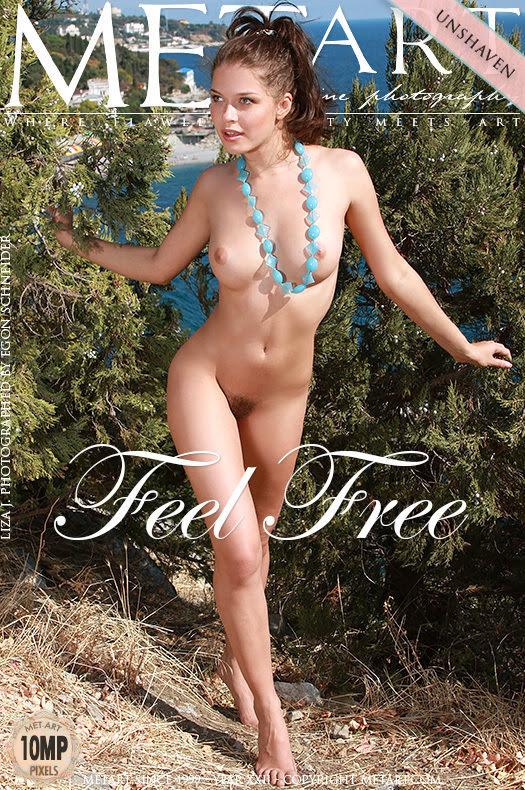 [Met-Art] Liza J - Feel Free