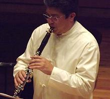 Recital del clarinetista Valdemar Rodríguez en Venezuela. Comunidad Clariperu