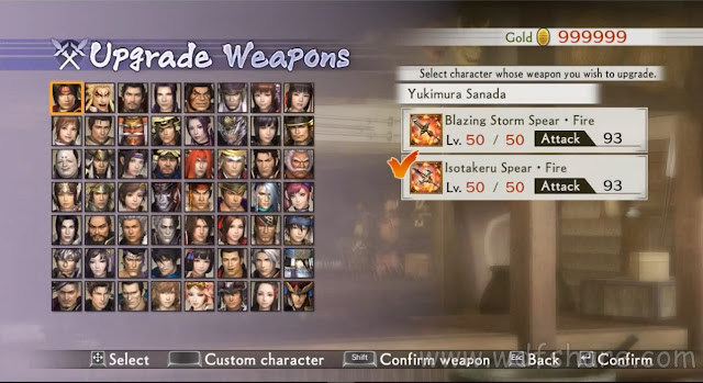 Samurai Warriors 4-ii Save Data