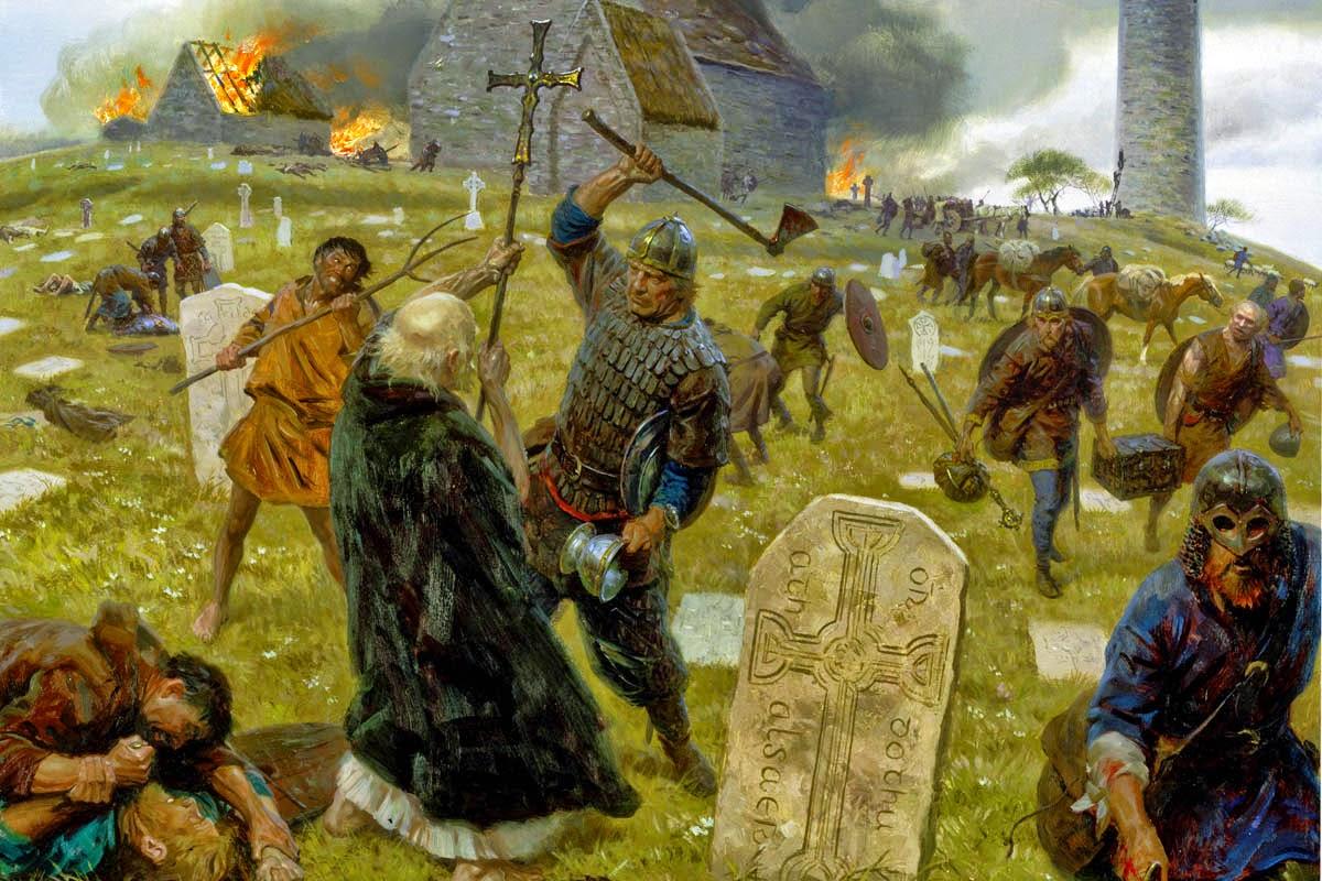 Resultado de imagem para viking em Lindisfarne