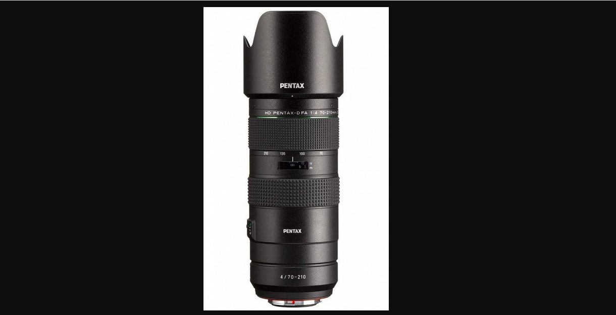 The first image of the HD Pentax-D FA 70-210mm f / 4 ED SDM WR appeared