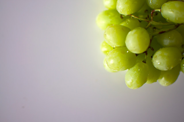eating fabulously, cotton candy grapes, christopher stewart