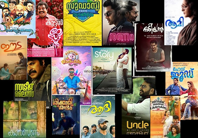 Satellite Rights of Malayalam Movies 2018