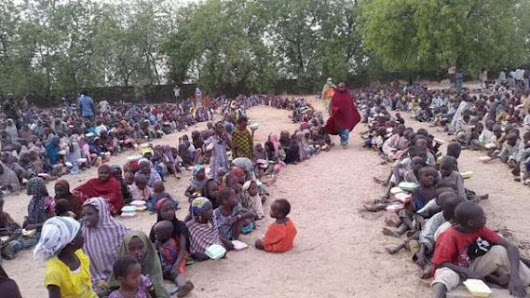 Photo of the day: Nigerian children living in IDP camp