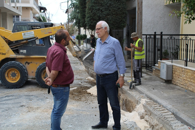 Συνεχίζονται στην πόλη της Λάρισας με αμείωτο ρυθμό τα έργα στο μεγάλο πρόγραμμα της ΔΕΥΑΛ (ΦΩΤΟ)