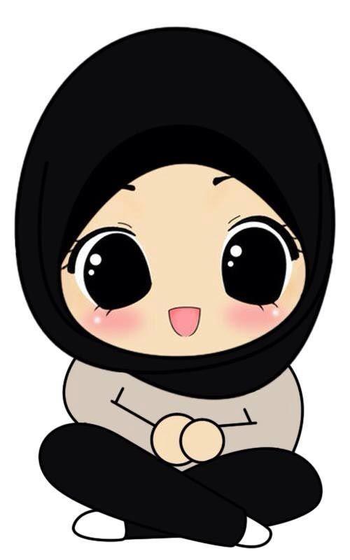 Kartun Muslimah Lucu Imut