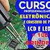 Curso de Conserto de Tvs Lcd e Led + Brinde R$ 19,90