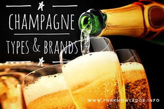 Champagne types & brands