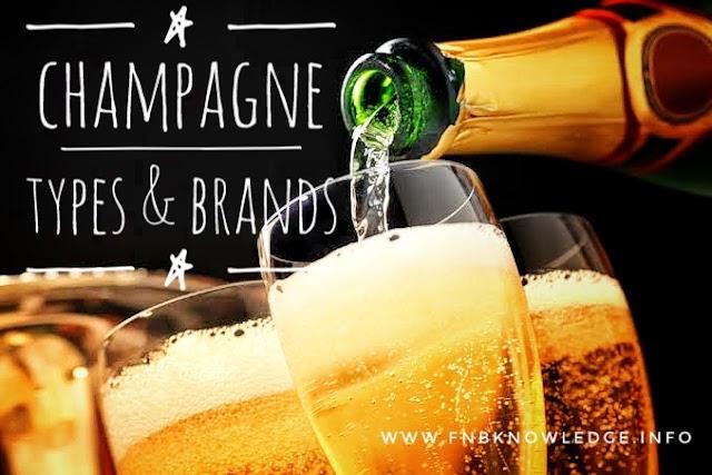 Champagne types & brands|fnbknowledge.com