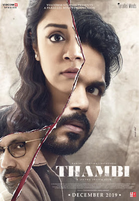 Thambi (2019) Dual Audio [Hindi – Tamil] 720p | 480p UNCUT HDRip ESub x264 1.1Gb | 500Mb