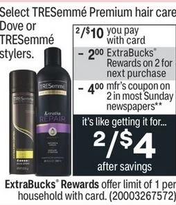 Tresemme Premium Hair Care