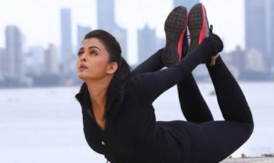Aishwarya Rai Workout Yoga for Weight Loss