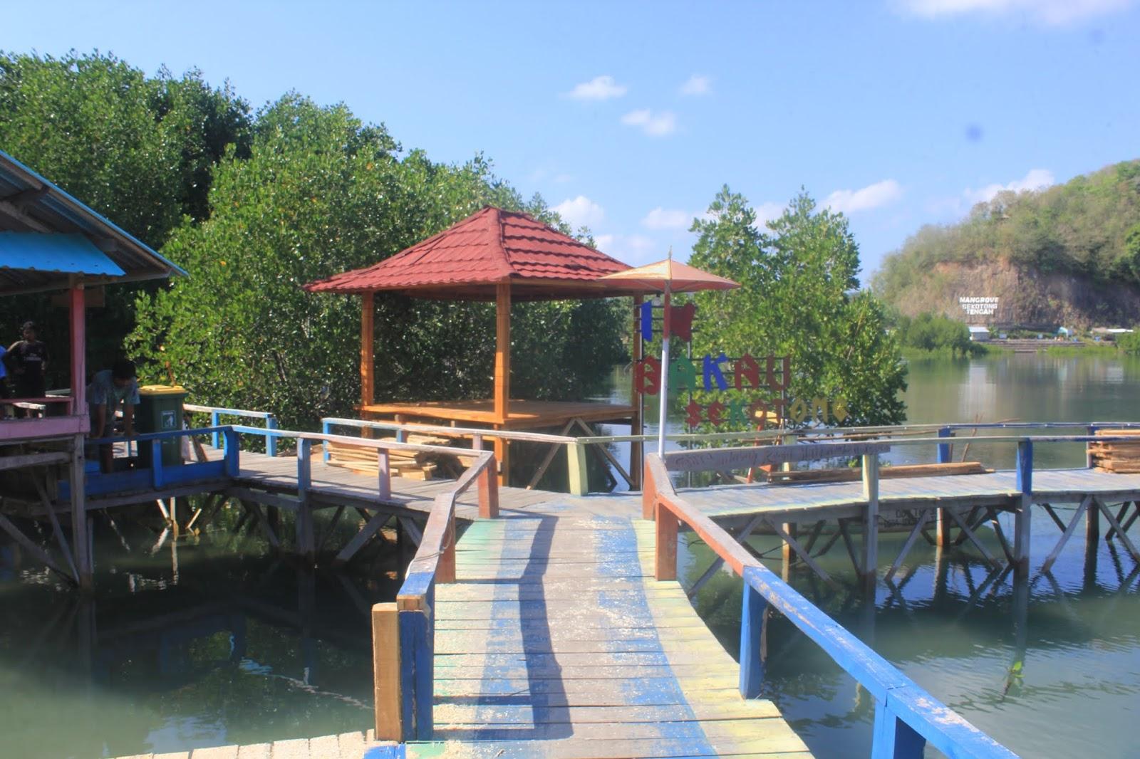 Suasana tenang di kawasan mangrove sekotong tengah