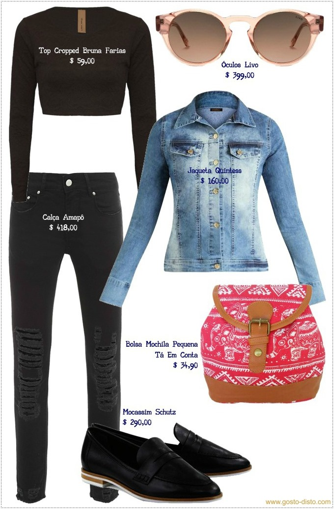 Maneiras descoladas de usar jaqueta jeans