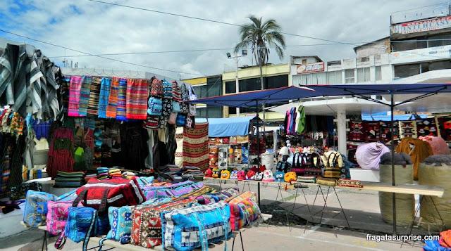 Mercado de Otavalo - Equador