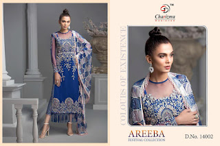 Charizma Areeba festival collection pakistani Suits