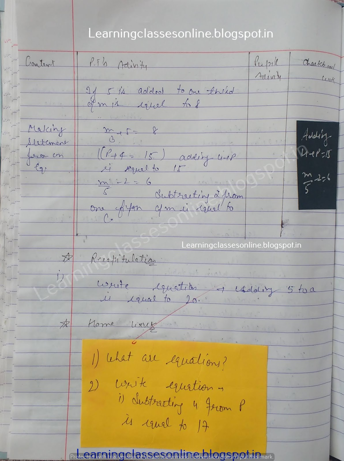 Sample Detailed Lesson Plan In Math Grade 9,