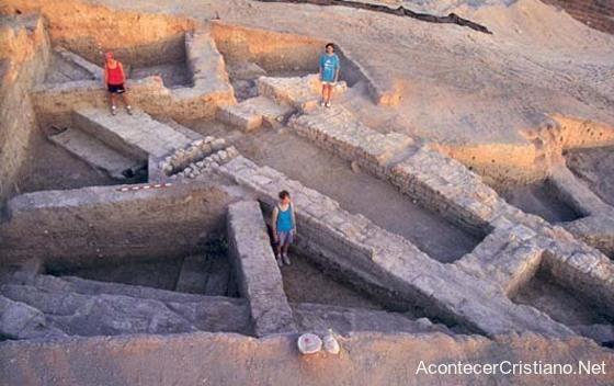 Ruinas arqueológicas de posible casa del Profeta Eliseo