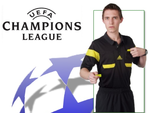 2bf4d0387a5 Here s the new 2013-2014 Adidas Referee Shirt which will apparently be used  for the new season s UEFA Champions League