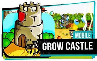 Grow Castle Apk Mod Ouro Infinito