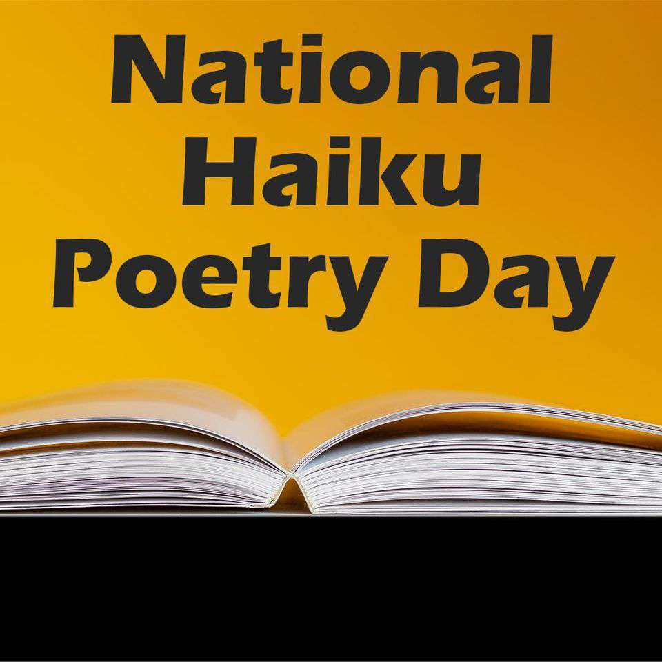 National Haiku Poetry Day Wishes Awesome Picture