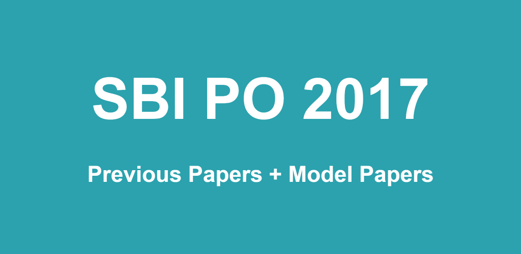 Pdf solved question papers sbi previous po
