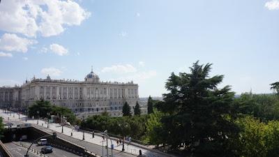 Palacio Real desde el Palacio de Godoy