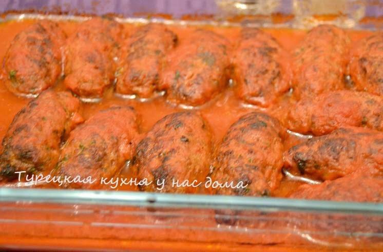 котлеты под томатным соусом в духовке