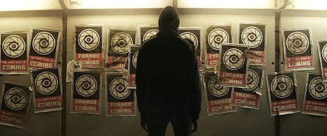 Framed homme mur affiche