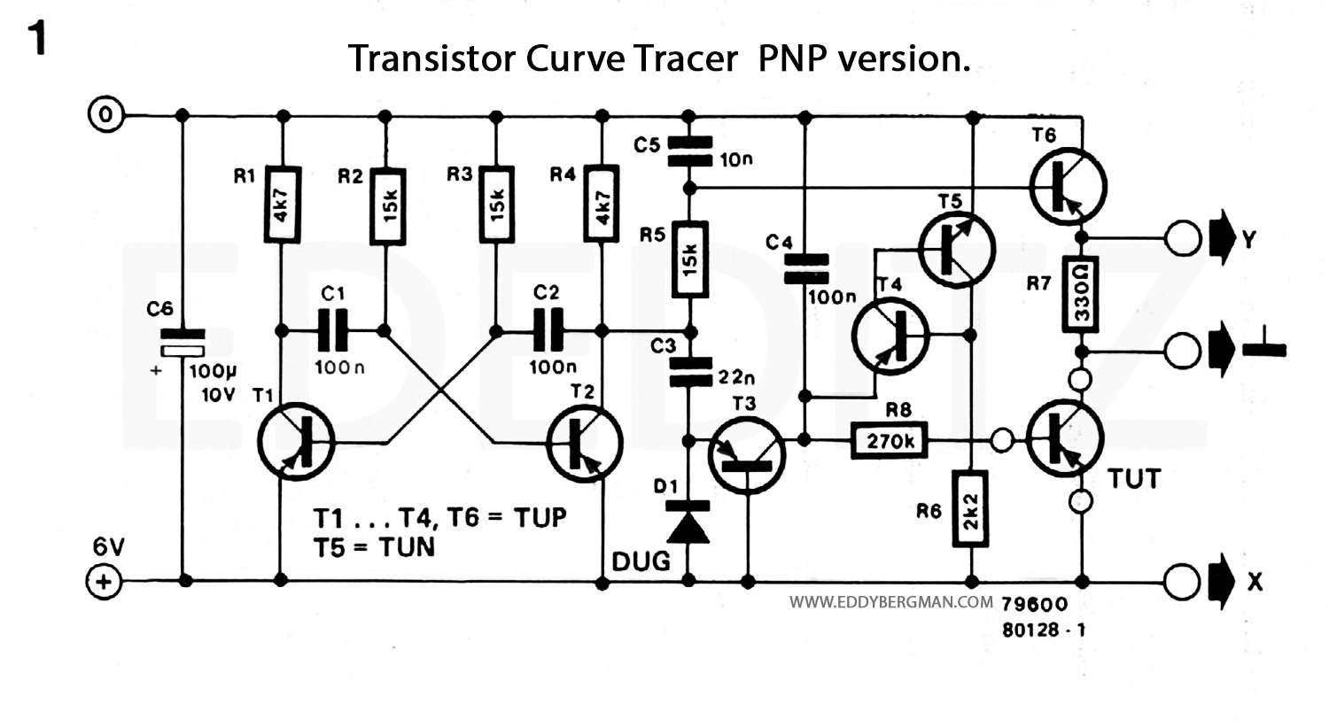 eddy bergmancom simple but effective transistor curve With circuit tracer ebay