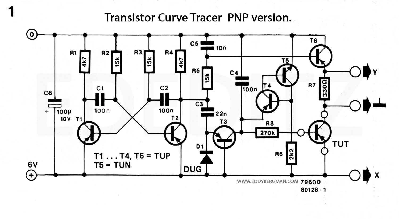 transistor curve tracer circuit