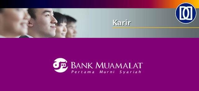 Lowongan Kerja - Frontliner - PT Bank Muamalat Indonesia, Tbk.