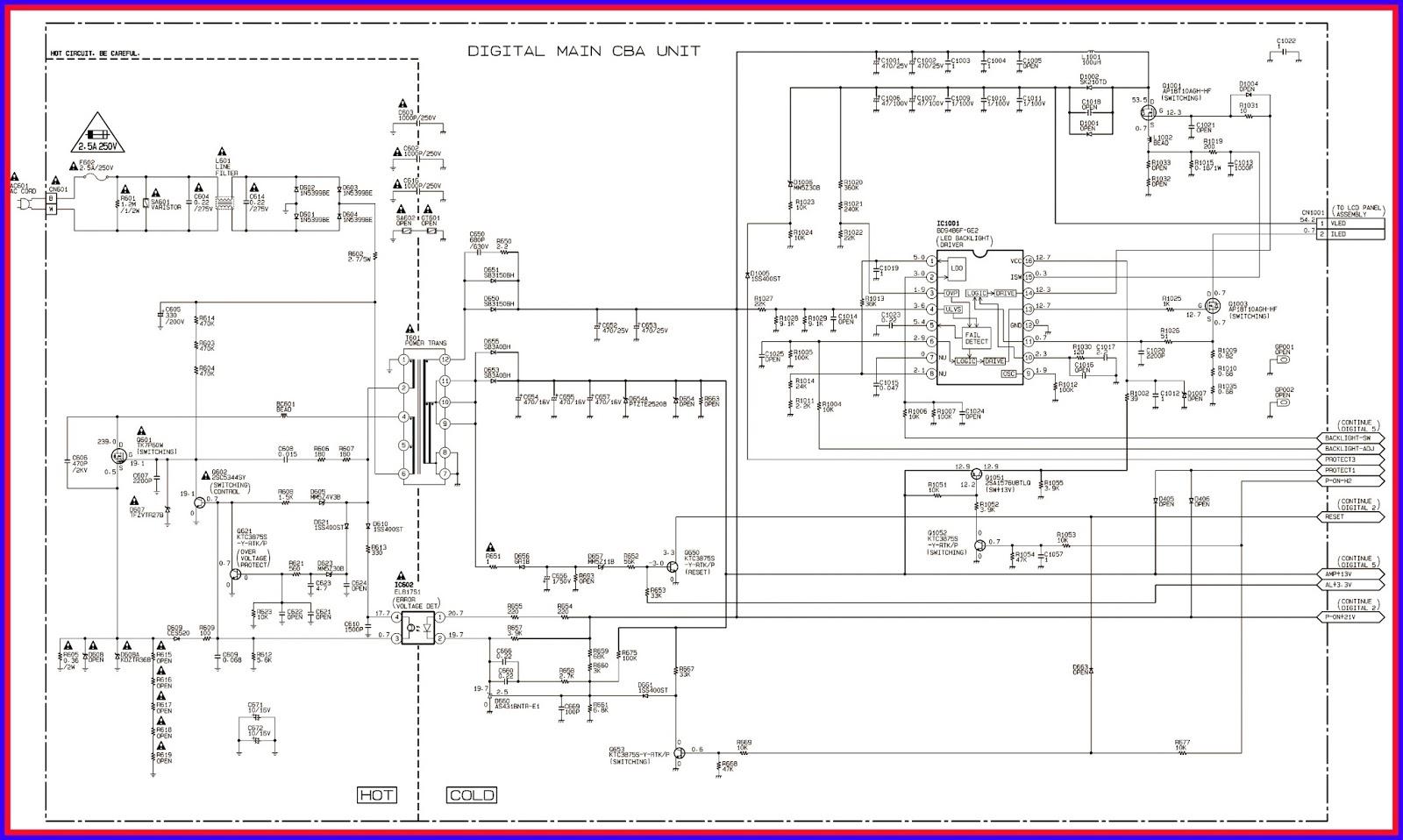 Master Electronics Repair !: EMERSON LF320EM4 – LF320EM5F