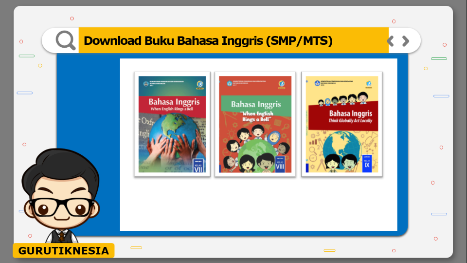 download gratis buku pdf bahasa inggris untuk smp/mts
