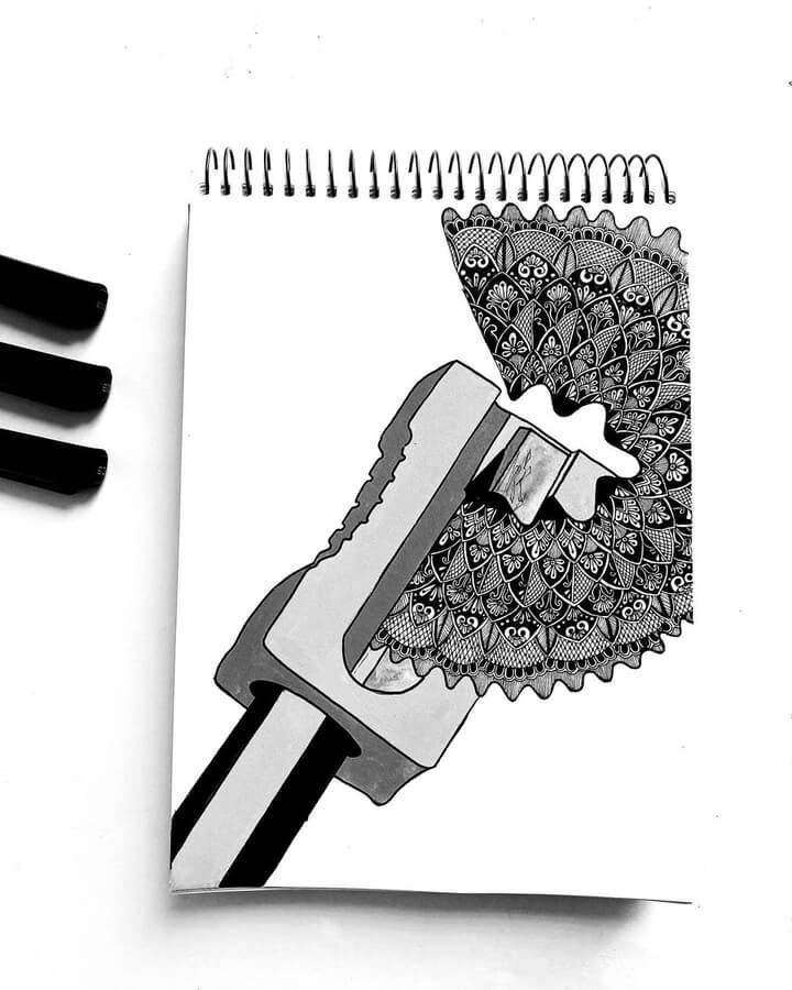 05-A-pencil-sharpener-Chama-Poddar-www-designstack-co