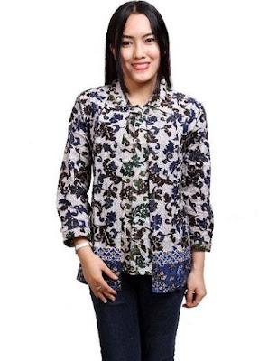Desain Baju Batik Modern 2