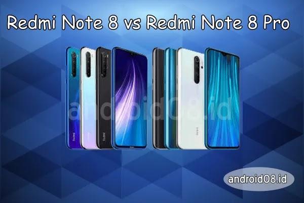 Perbedaan Redmi Note 8 dan 8 Pro