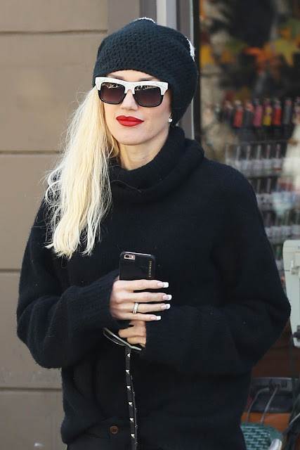 Actress, Singer, @ Gwen Stefani Out In West Hollywood
