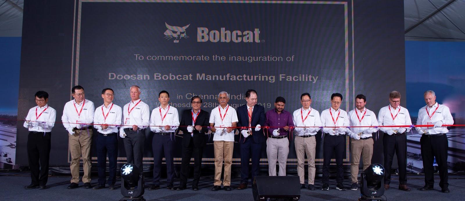 3rdeyereports com: DOOSAN BOBCAT sets up its first Indian
