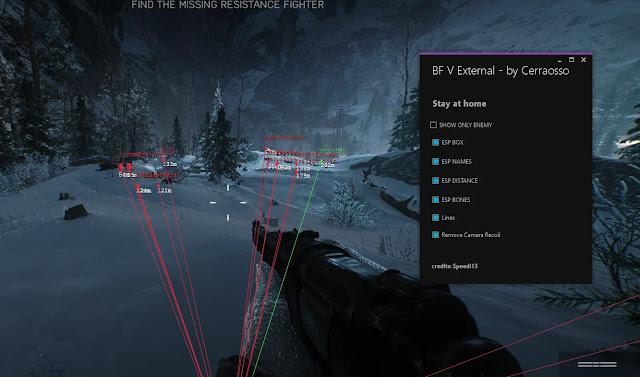 battlefield V esp hack