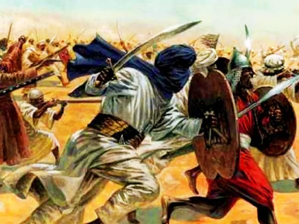 arab invasion in india