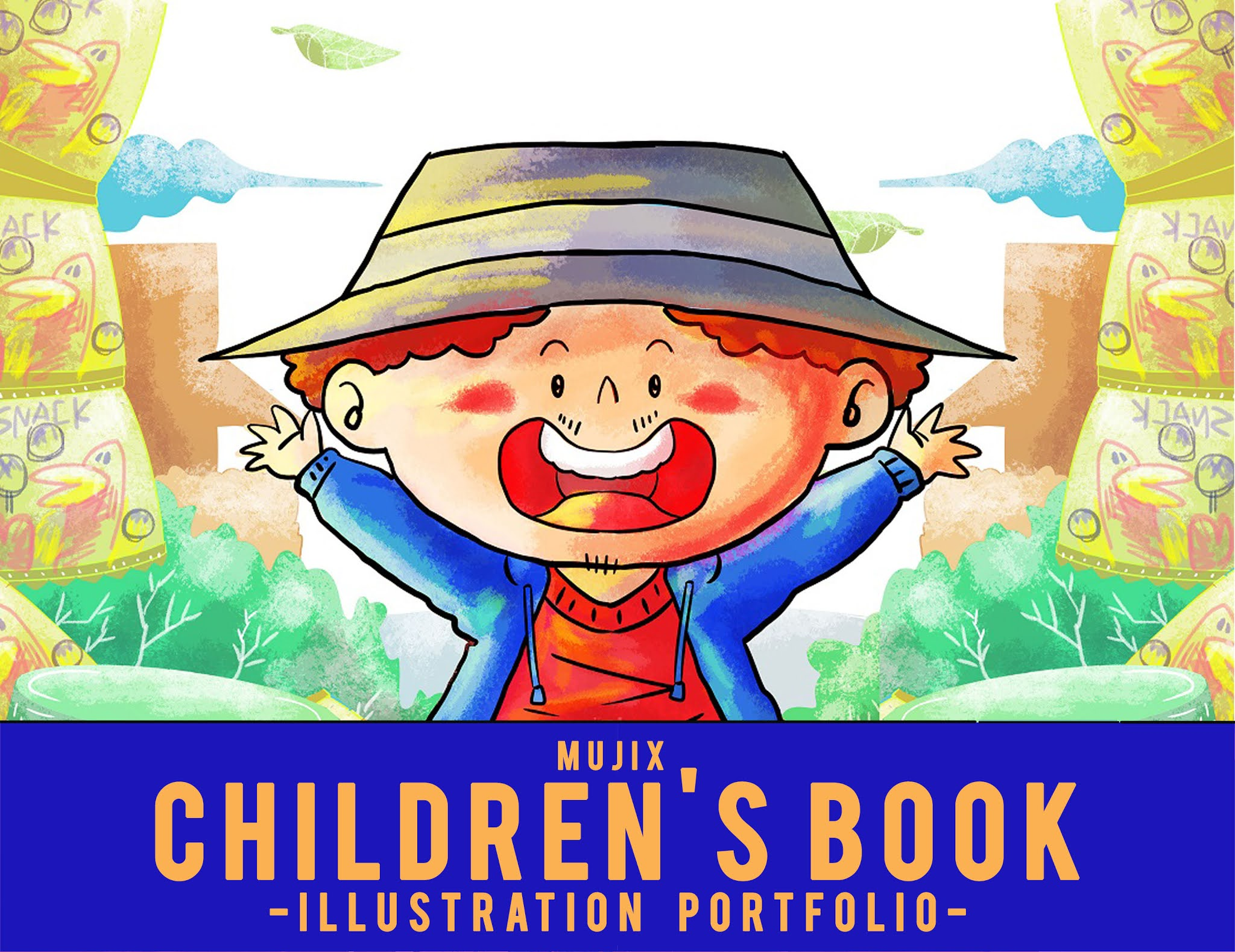 CHILDRENS BOOK ILLUSTRATION MUJIX